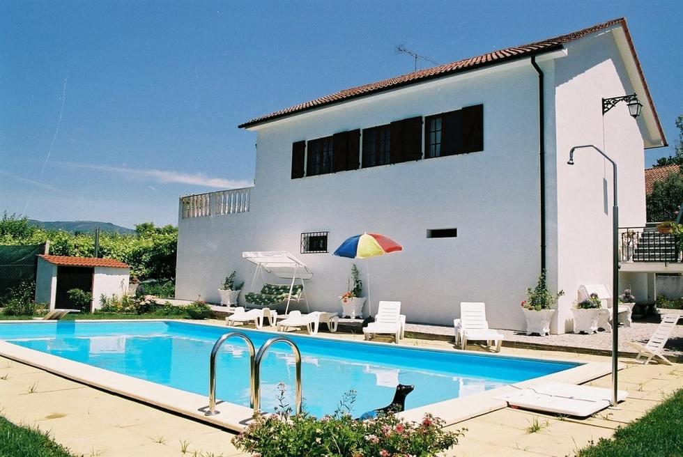 Casa de Sao Joao, casa rural con piscina y jardín en Portugal, Ponte de Lima, Ref: casadesaojoao