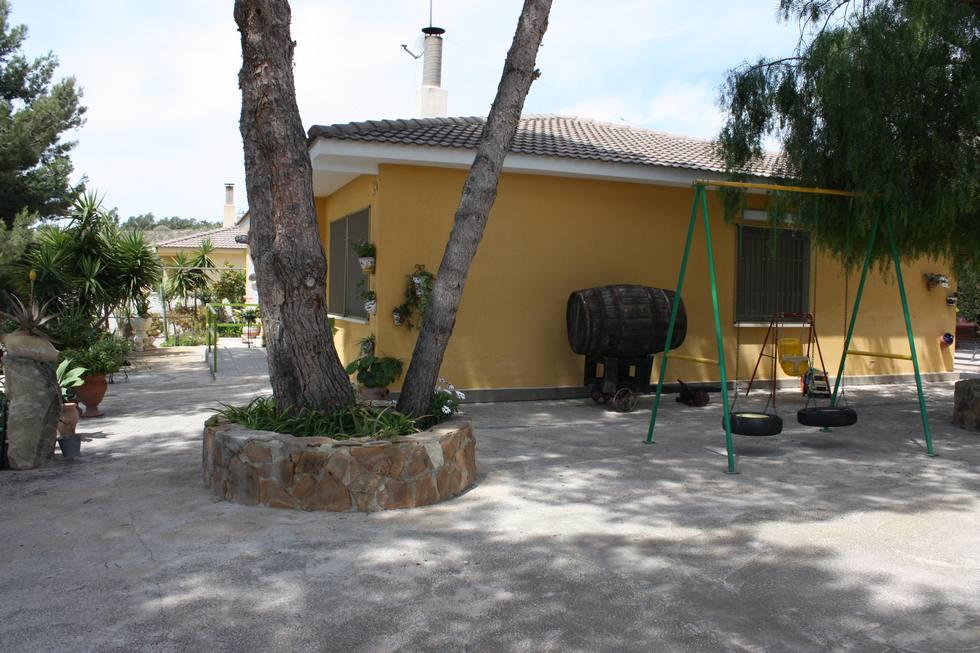 Casa Rural La Vendimia, casa grande con jardín y piscina en Mutxamel, Alicante