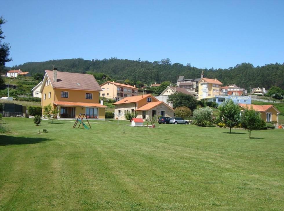 Casas Cuncheiro en Costa da Morte, A Coruña. Casa Grande para grupos