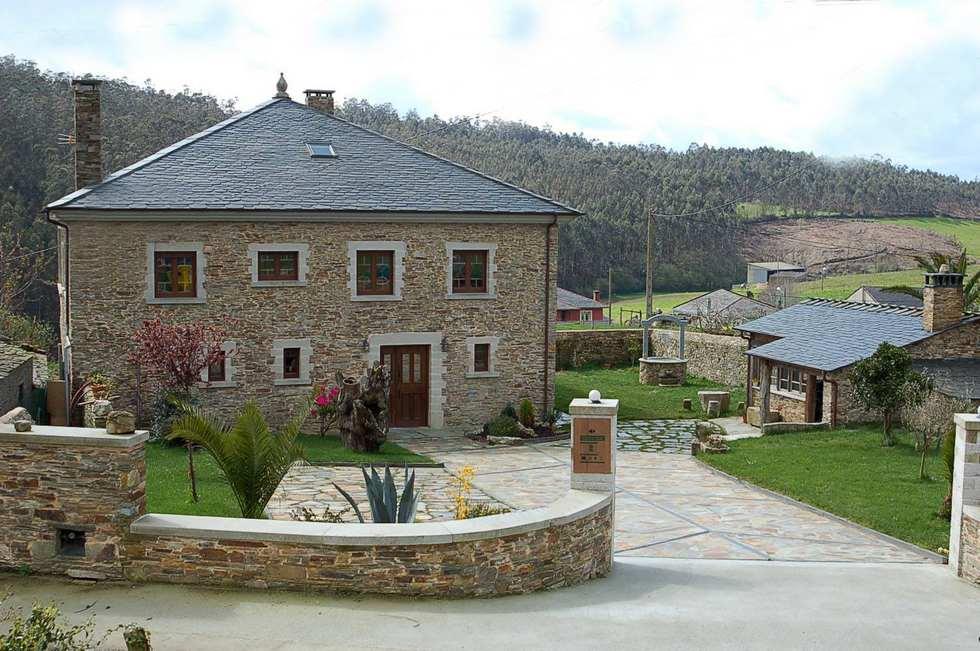 Castro de Villaosende. Apartamentos rurales en Lugo. Playas de las Catedrales. Casa Accesible.