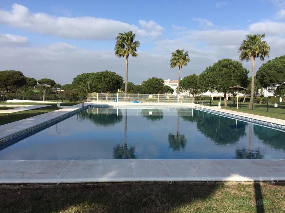Apartamento con piscina en campo de golf de Chiclana