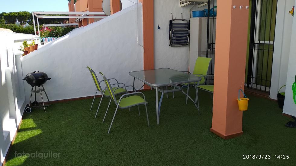 Alquiler apartamento en el Residencial Montemar, La Barrosa, Chiclana