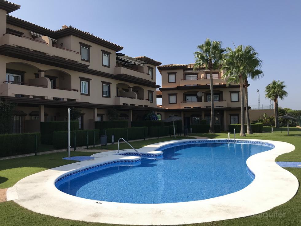 Alquiler apartamento en Costa Galea, Novo Sancti Petri, Chiclana de la Frontera
