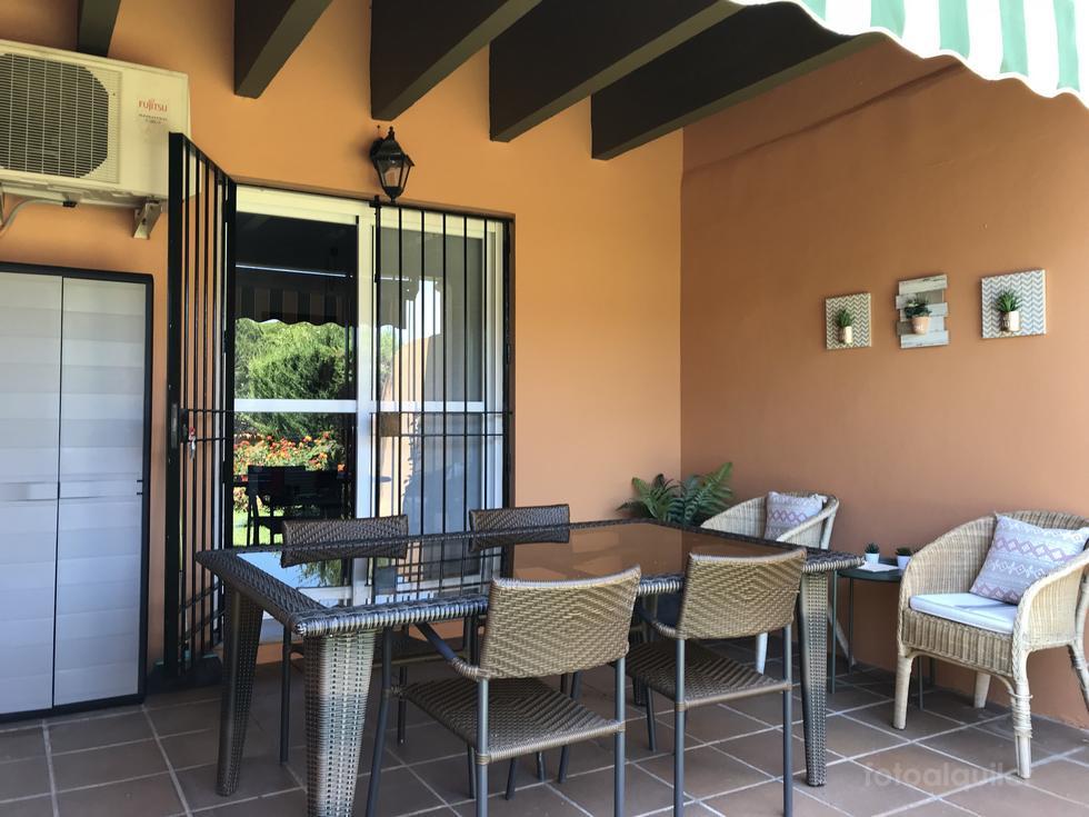 Casa para vacaciones en Chiclana de la Frontera, Urbanización Jardin del Golf II