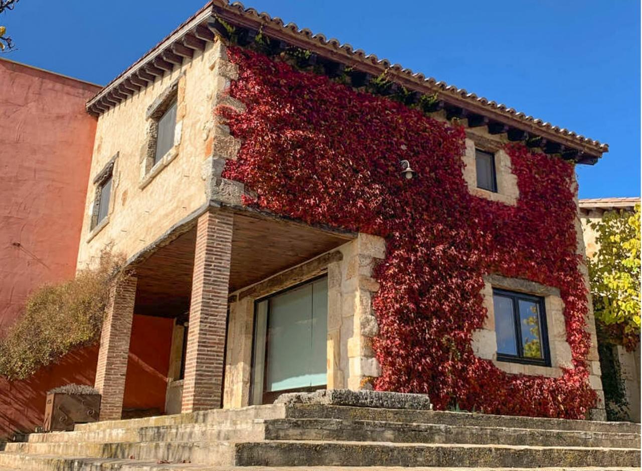 Casa Rural Cinco Celemines Sur, alojamiento rural cálido y confortable en Briongos de Cervera, Burgos