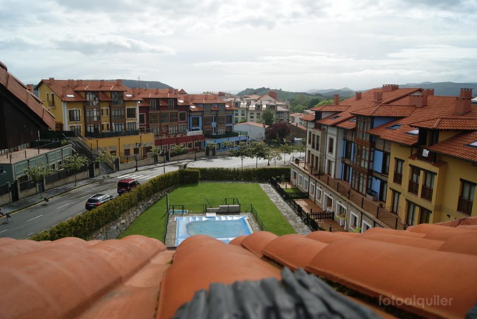 Alquiler de apartamento en la urbanización El Capricho, Colombres, Ribadedeva, Asturias, ref.: colombres9143