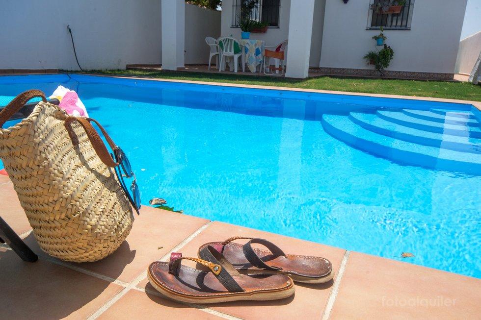 Casa para vacaciones con piscina en Conil de la Frontera
