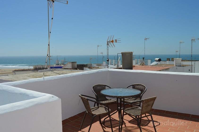 Alquiler de apartamento con vistas al mar en Conil de la Frontera