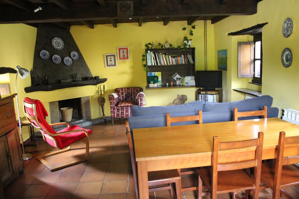 Casa Rural El Correntíu en Ribadesella, Asturias