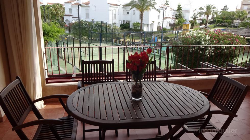 Apartamento vacaciones con niños en Costa Ballena, urbanización Paraiso Playa Golf