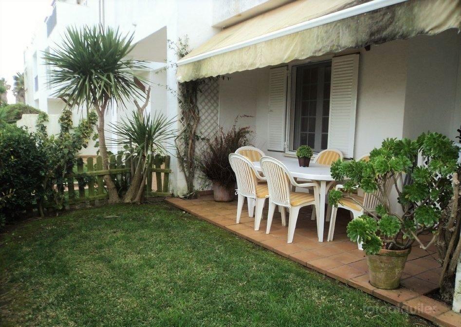 Alquiler apartamento un dormitorio, primera linea en Marina Golf, Costa Ballena