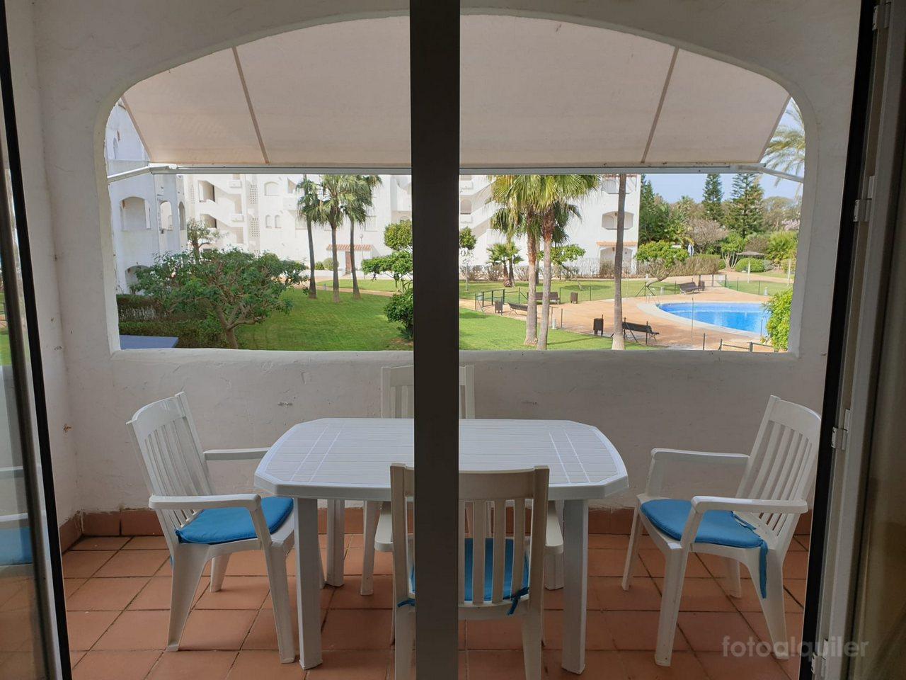 Piso para vacaciones en Costa Ballena, Urbanización Jardines del Sol II