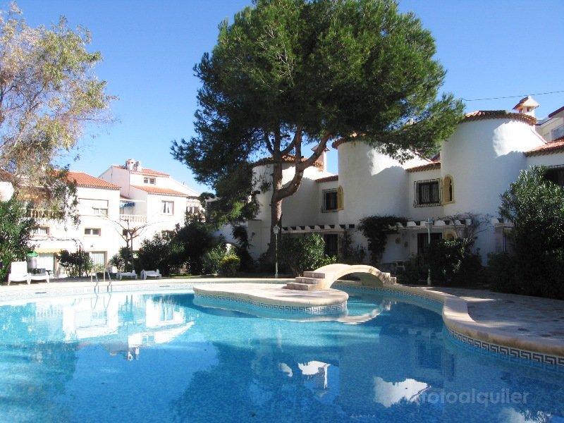 Apartamento en primera línea de playa, Residencial La Racona, Denia, Alicante, ref.: denia-10888