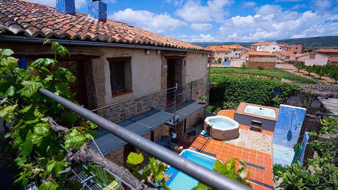 Apartamentos El Cau dels Somnis en La Cuevarruz, Valencia.
