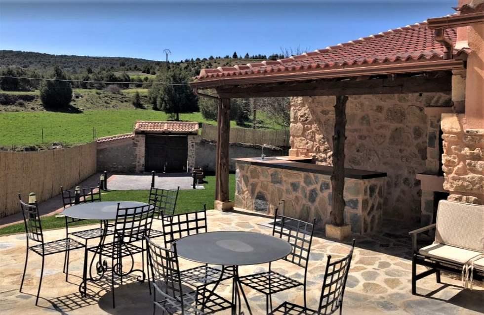 El Escondite de Castroserna, casa rural en Prádena, Castroserna de Arriba, Segovia