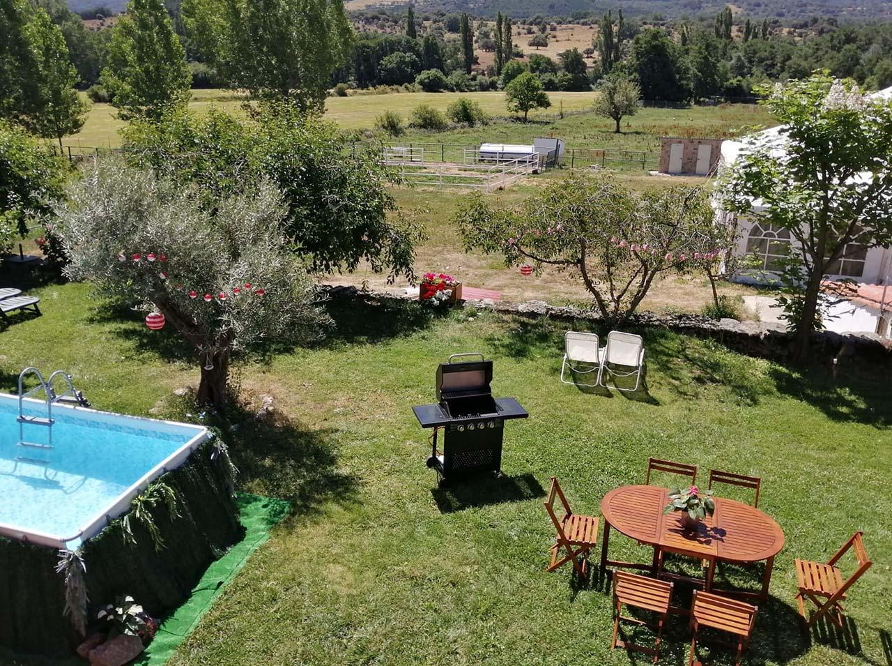 Casa Rural El Mirador del Gato en Bonilla de la Sierra, Avila