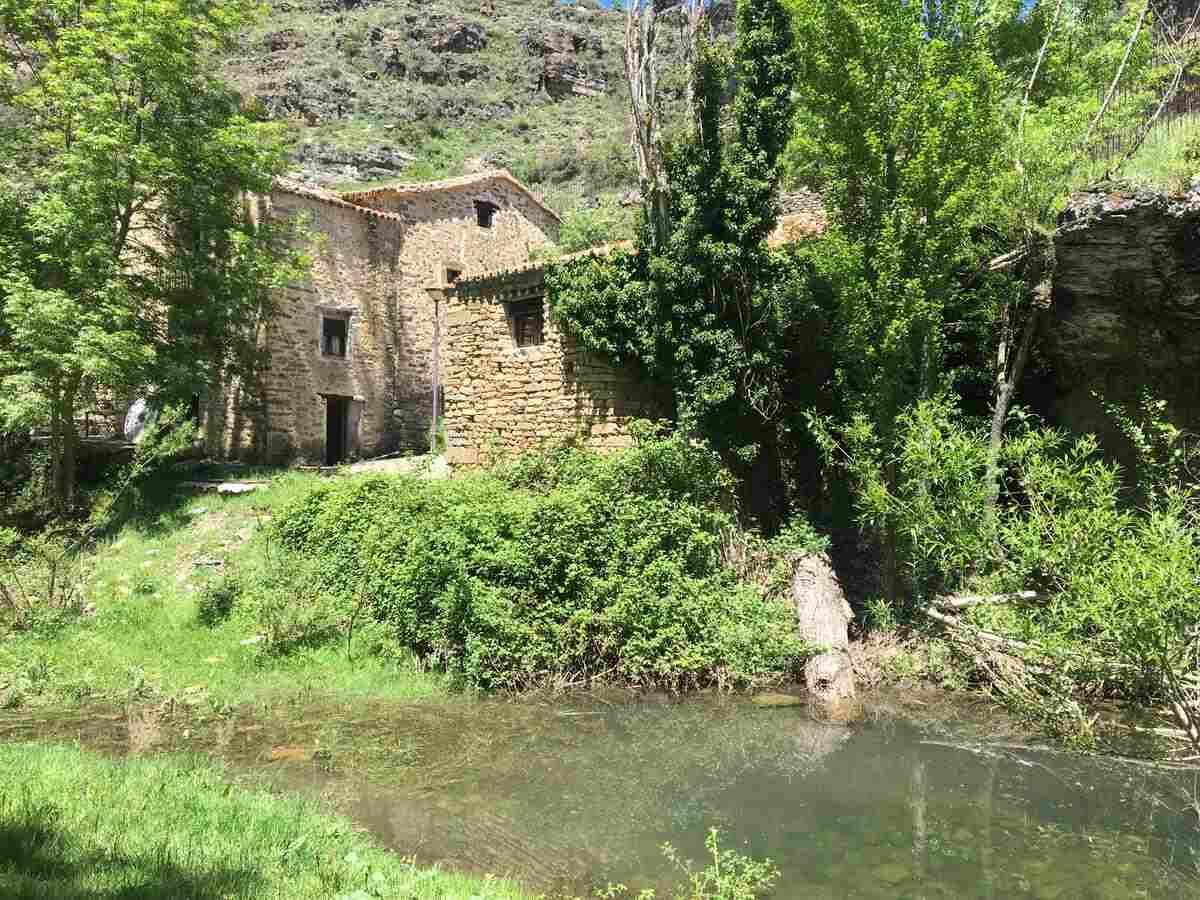 Alquiler de dos casas rurales en molino rehabilitado. El Molino de Bretun, Bretun , Soria