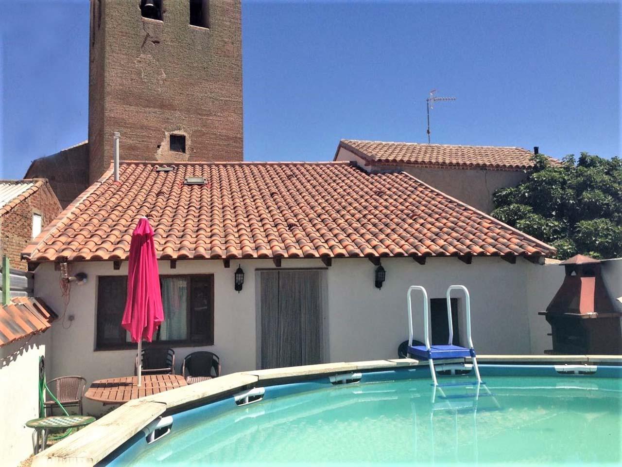 El Rincón de la Moraña, casa rural para 15 personas en Fuente El Saúz, Avila