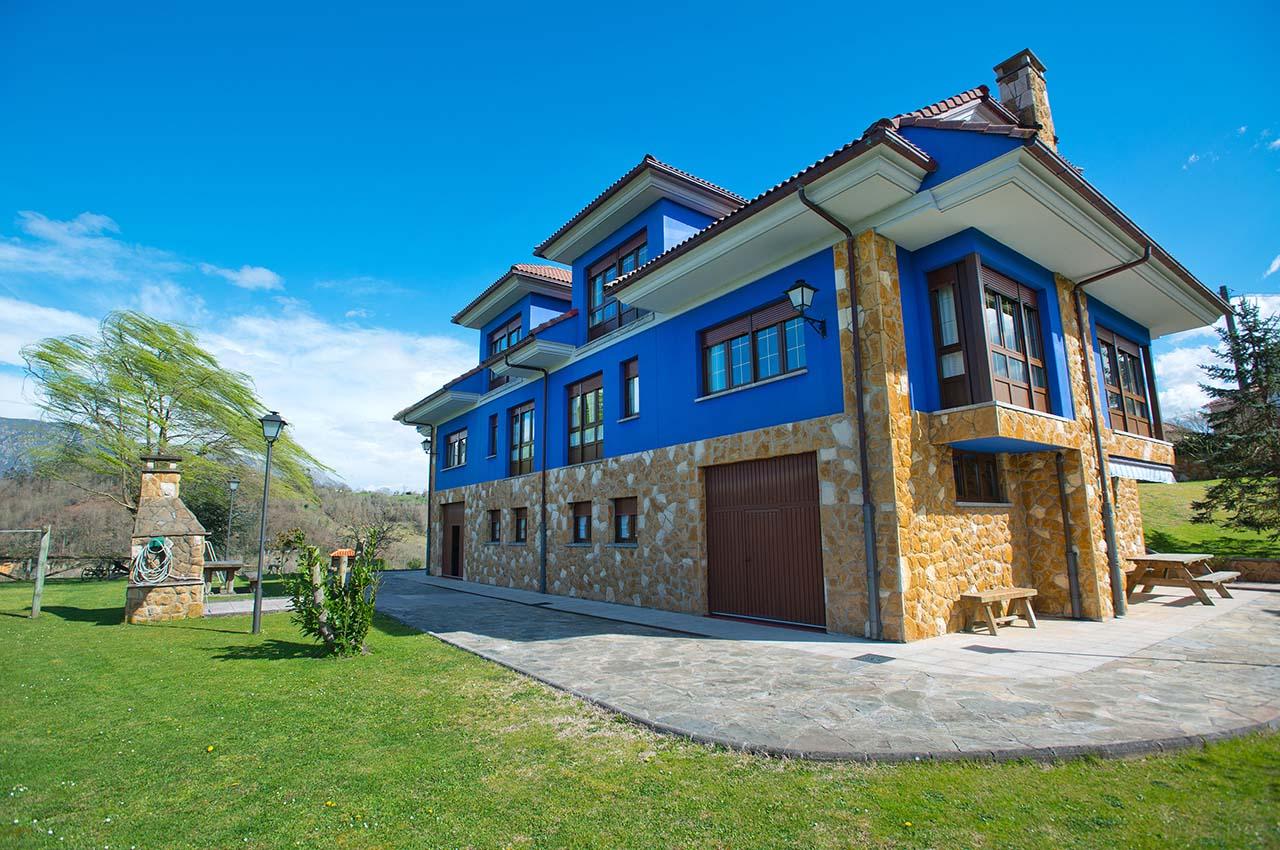 Casa rural con 5 dormitorios en Sevares, Piloña, Asturias, ref.: elpongallin