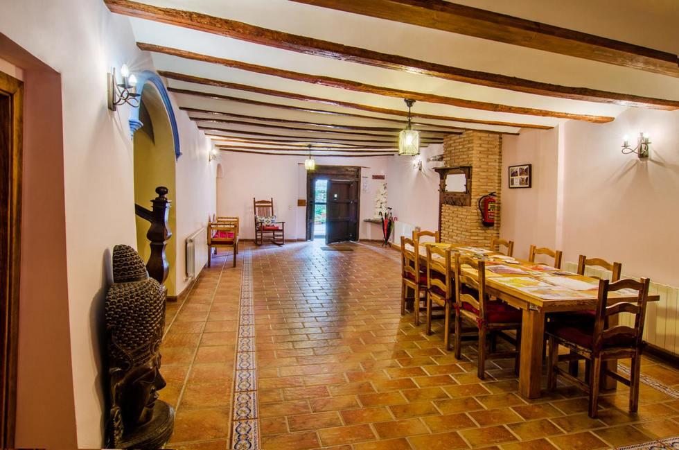 Casa Rural El Rincón Solariego, casa con jacuzzi en Teruel, Pancrudo