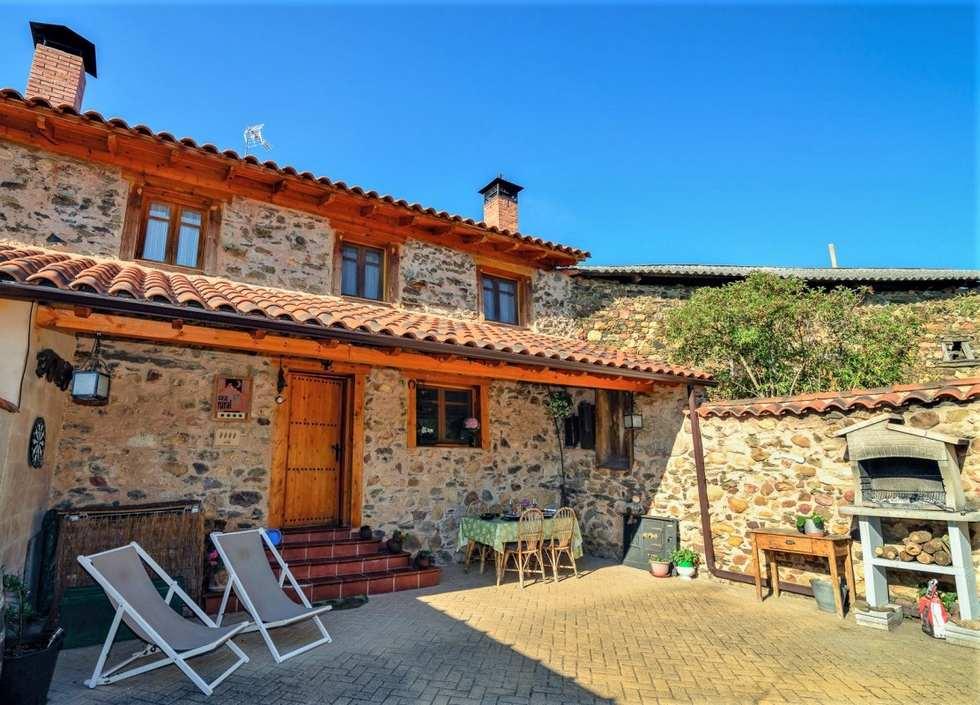 Casa rural Entre Valles, casa rural con jacuzzi en León, Carrocera, Benllera