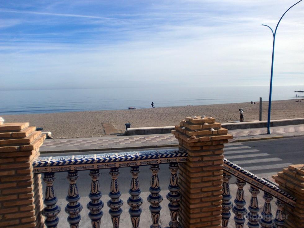 Primera linea playa, Alquiler de piso en Fuengirola, Malaga