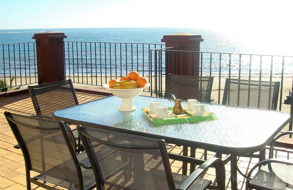 Alquiler de ático frontal al mar en Isla Canela, Ayamonte, Huelva
