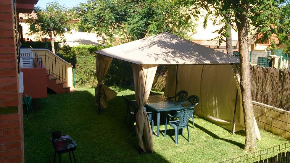 Apartamento de dos dormitorios en Islantilla con piscina, garaje y barbacoa
