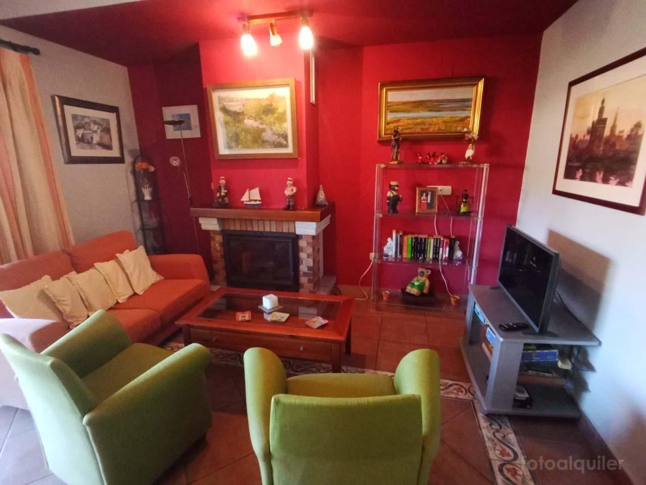 Alquiler chalet tres dormitorios en Islantilla, Urbanización Veconsa Hoyo 12