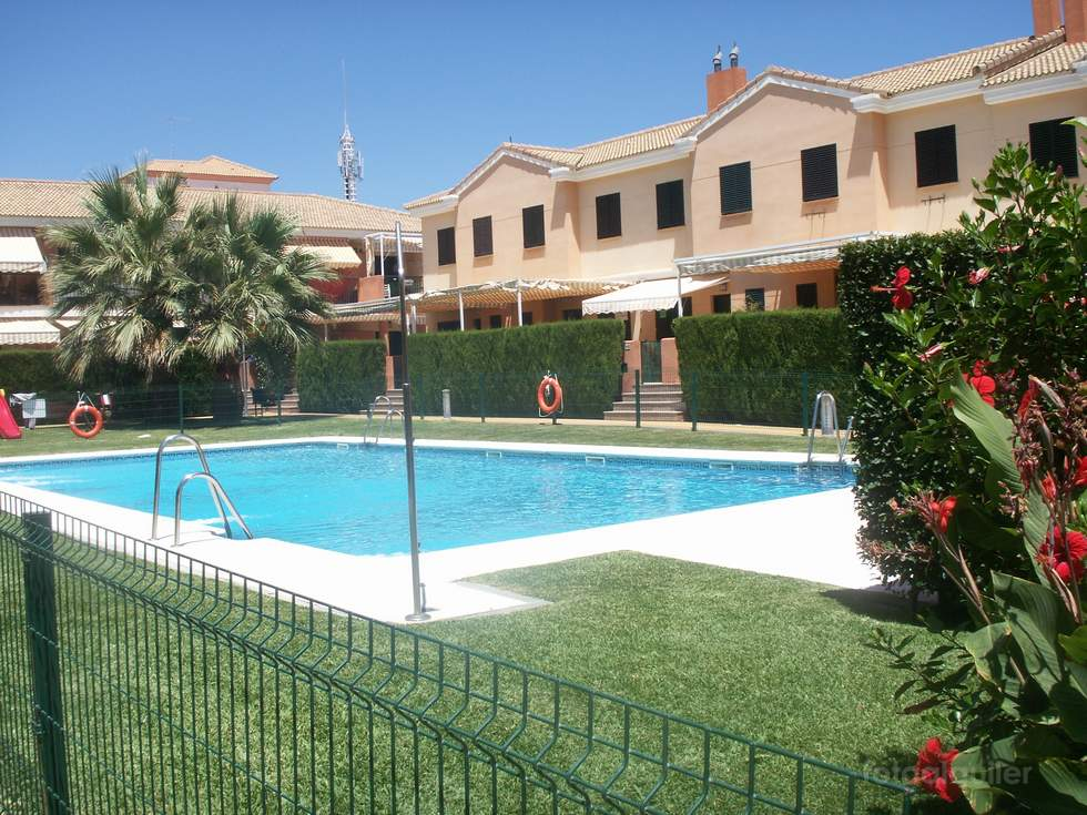 Casa para vacaciones en la playa de Islantilla, Urbanización Bellaluz