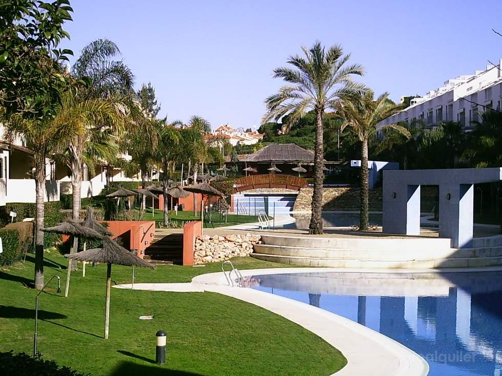 Alquiler de apartamento en Islantilla, residencial Las Buganvillas, Huelva, ref.: islantilla3280