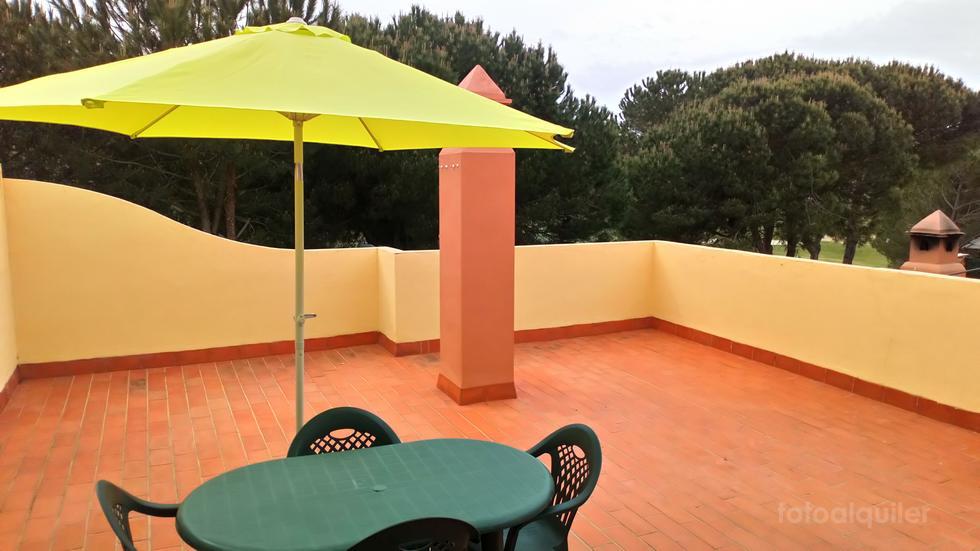 Ático para 5 personas en Islantilla, Urbanización Las Villas de Islantilla