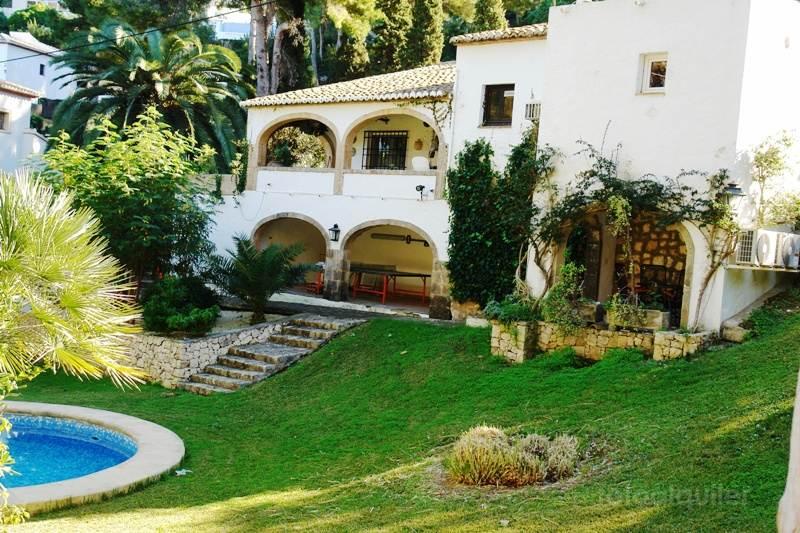 Alquiler de villa con piscina en la urbanización El Tosalet, Jávea, Alicante, ref.: javea-11130