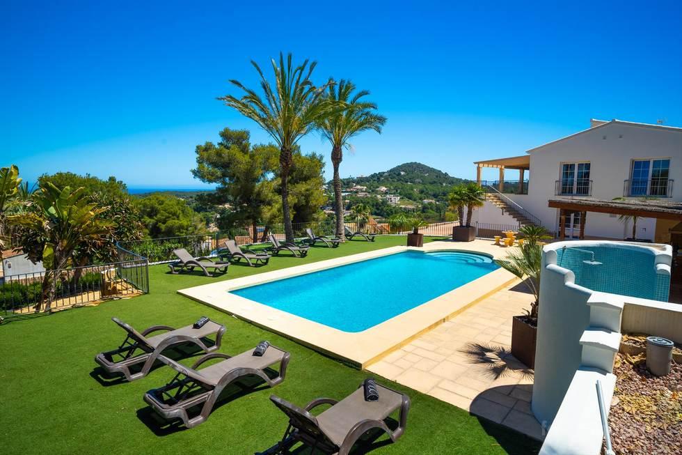Villa Vista al Mar en Jávea, Alicante, Costa Blanca, España