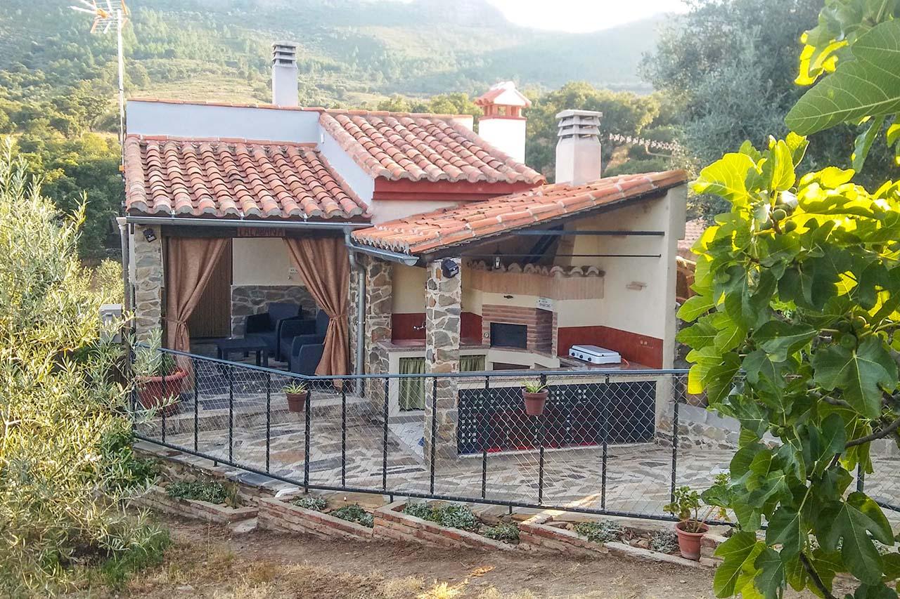 Cabaña Romántica Paraje El Llano, Valencia de Alcántara, La Aceña de la Borrega, Cáceres
