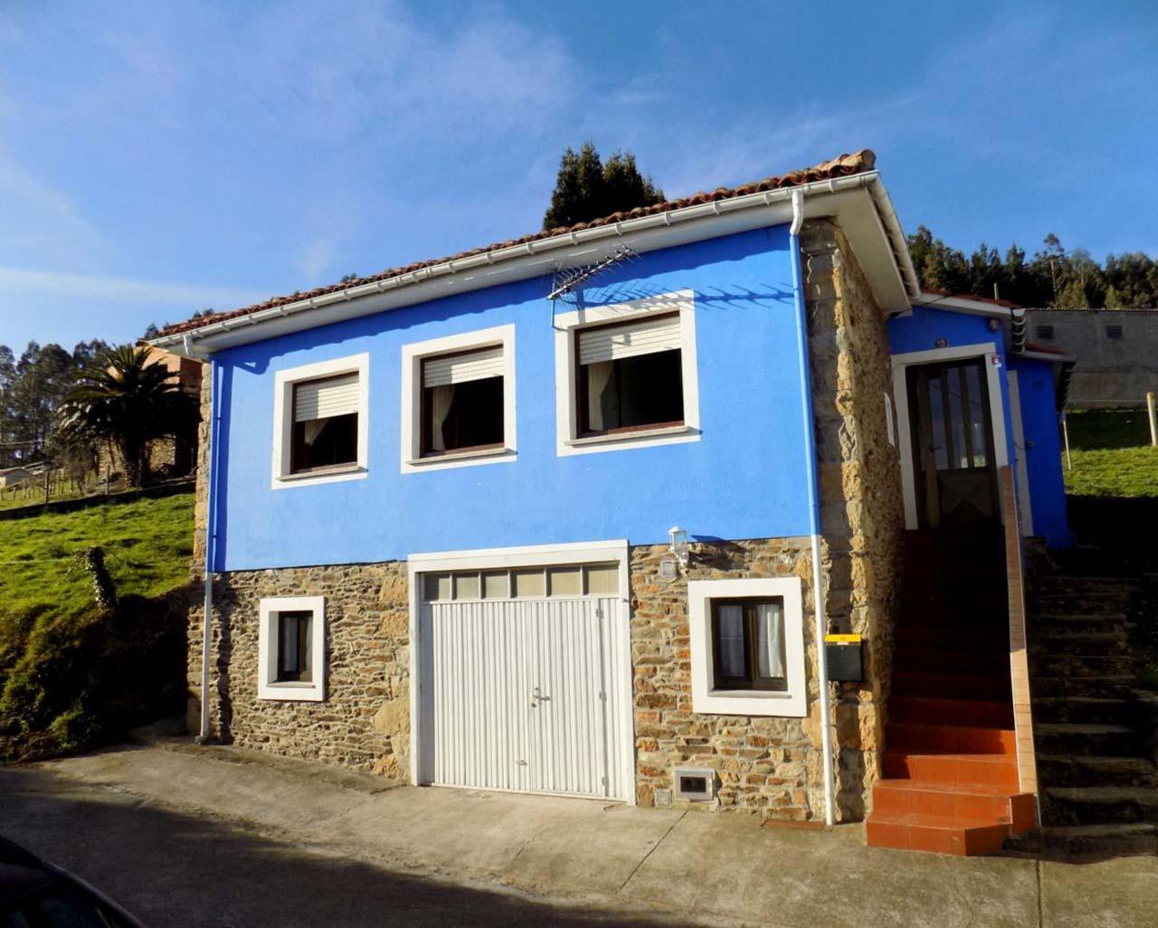 La Casa Azul, casa rural en Pravia, Asturias
