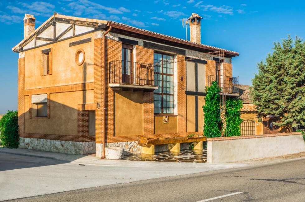 Casa de Arenas, casa rural con spa, sauna, jacuzzi y piscina en Llano de Olmedo, Valladolid