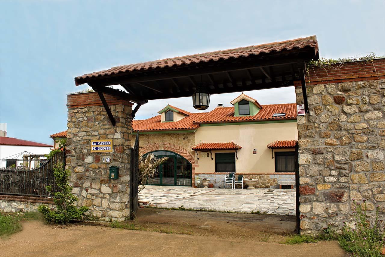 La Casona de Sergio, casa rural en Castellanos de Villiquera, Salamanca