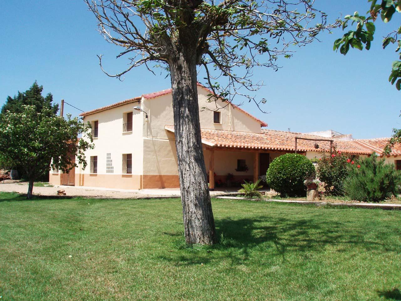 La Huerta El Tordo, casa rural en Manganeses de La Lampreana, lagunas de Villafafila, Zamora.