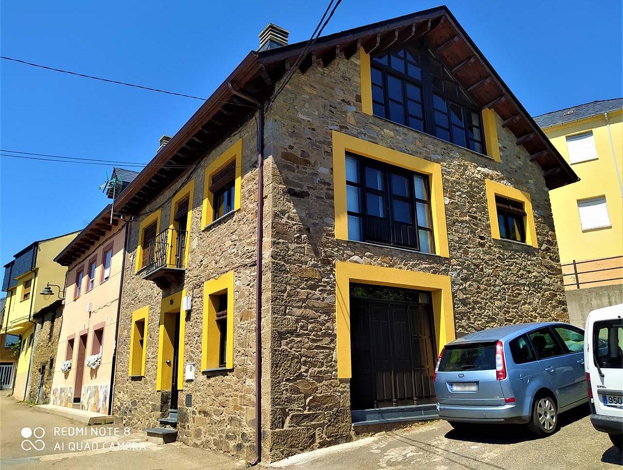Alquiler de Casa Rural La Obra de Joaquín, casa rural en El Bierzo, La Ribera de Folgoso, León