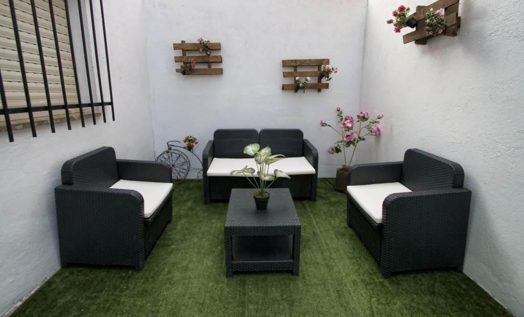 La Reguera, casa rural con patio y barbacoa para 4 personas en Valladolid, Siete Iglesias de Trabancos