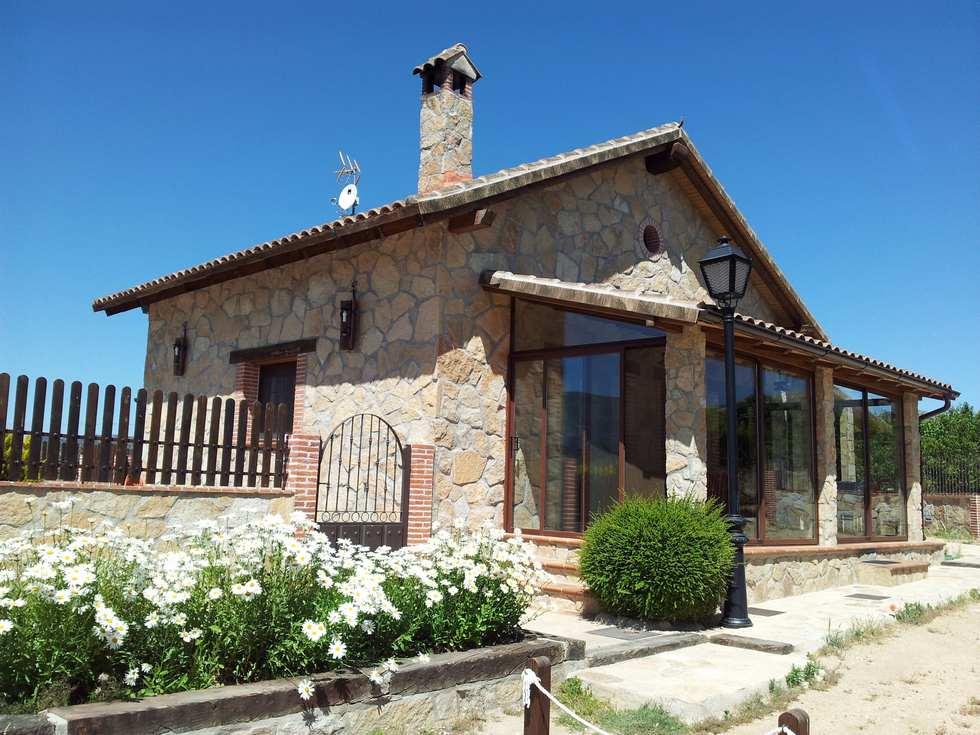 La Viña del Abuelo, casa rural con piscina y barbacoa en Burgohondo, Avila