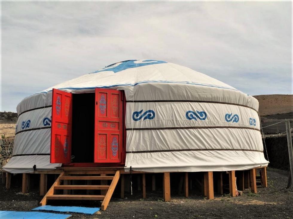 La Yurta, alojamiento rural original en Uga, Lanzarote, Islas Canarias
