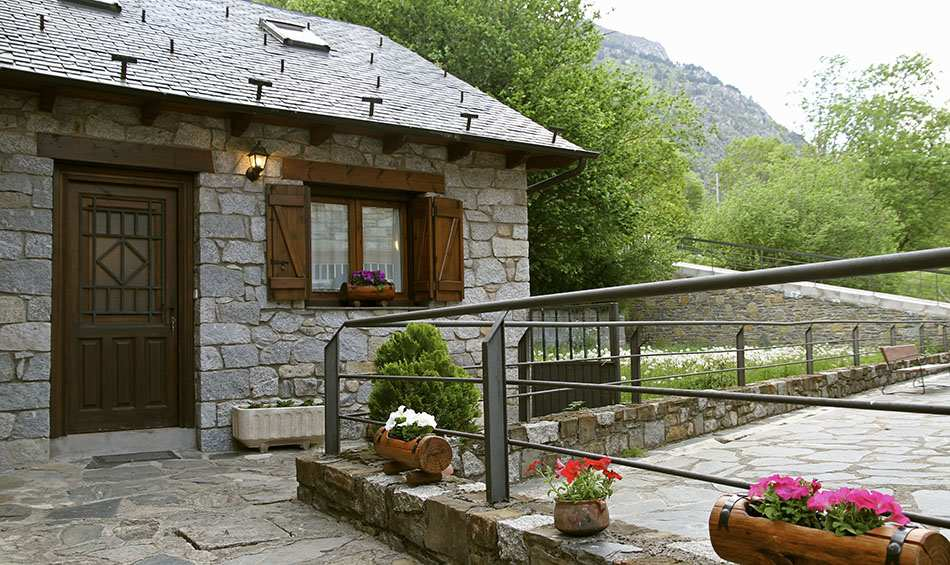 La Casita, alojamiento rural para 6 personas en Pirineos, Barruera, Lleida.