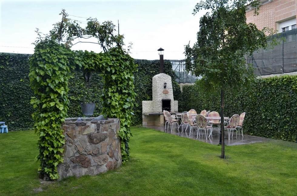 La Era, casa rural con jardín y barbacoa para 12 personas en Coca