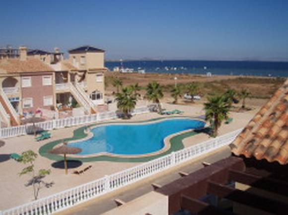 Alquiler de bungalow en La Manga del Mar Menor, primera línea de playa, Murcia, ref.: lamanga1752