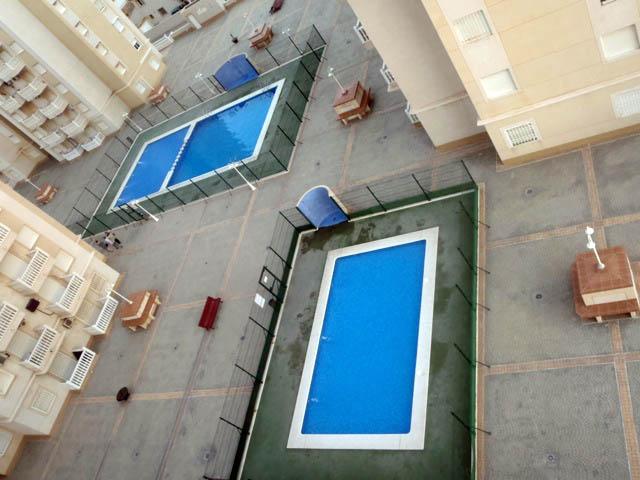 Primera linea de playa, apartamento dos dormitorios en La Manga del Mar Menor, Murcia