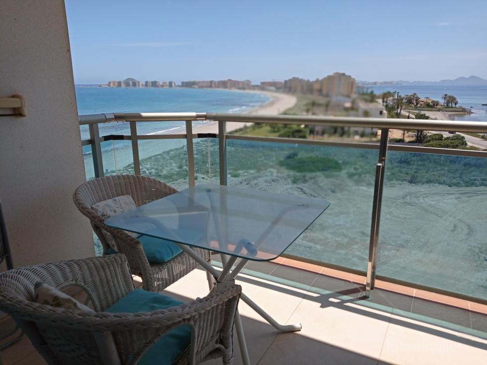Alquiler de apartamentos en primera línea, La Manga del Mar Menor, Murcia, ref.: lamanga3737