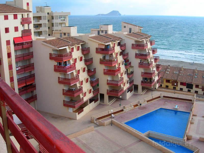 Apartamento primera línea del Mar Mediterráneo, La Manga, Murcia, ref.: lamanga5309