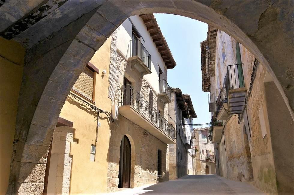 Apartamentos rurales Les Valeres en Fuentespalda, Teruel, Apartamentos rurales en Teruel